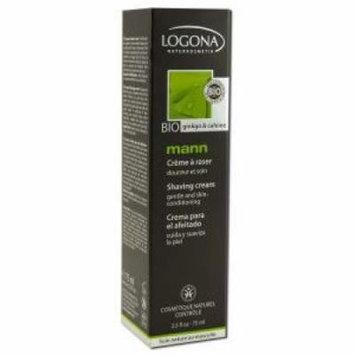 Mann Shaving Cream Logona 2.5 fl oz ( 75 ml) Liquid
