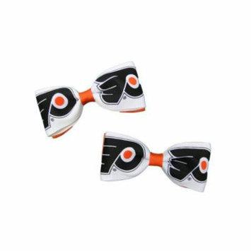 Philadelphia Flyers Hair Bow Pair