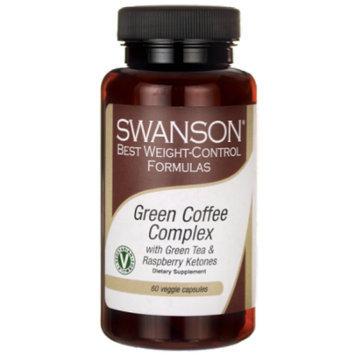 Swanson Green Coffee Complex with Green Tea & Ra 60 Veg Caps