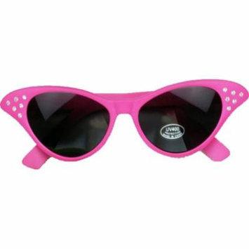 Neon Rhinestone Tinted Sunglasses