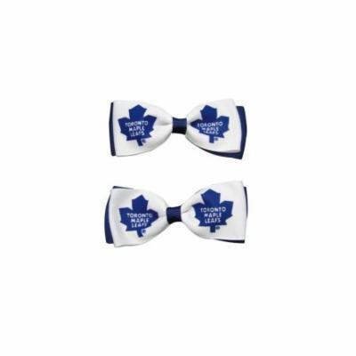 Toronto Maple Leafs Hair Bow Pair