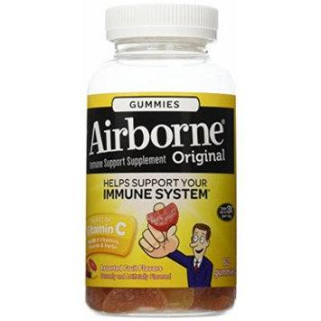 Airborne Vitamin C Gummies, Assorted Fruit, 63 Count