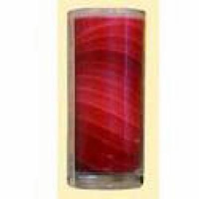 Aloha Bay - Gem Tone Jar, Unscented Red, 11 oz