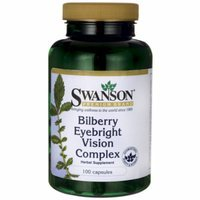 Swanson Bilberry Eyebright Vision Complex 100 Caps