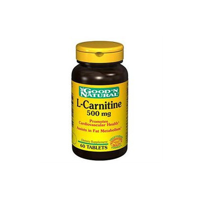 Good 'N Natural - L-Carnitine 500 mg. - 60 Tablets