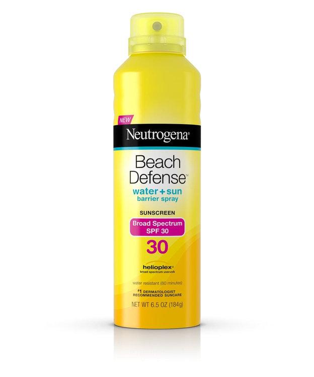 Neutrogena® Beach Defense® Water + Sun Protection Sunscreen Spray Broad Spectrum SPF 30