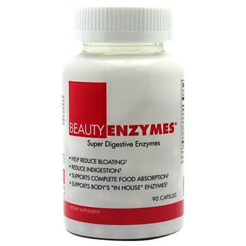 Beauty Fit Beautyfit 7250007 Beauty Enzymes 90 Capsules