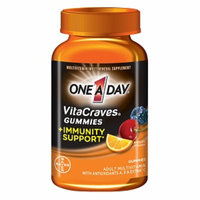 One A Day VitaCraves Gummies + Immunity Support