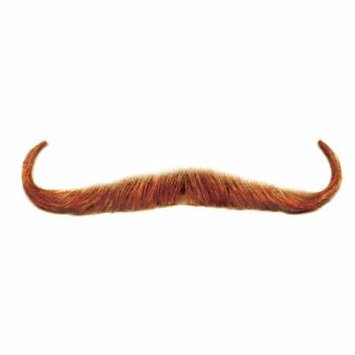 Loftus Men Real Human Hair Gambler Moustache, Brown, One Size