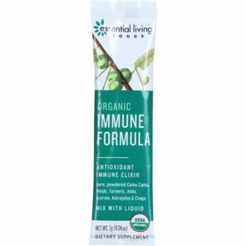 Essential Living Foods Immune Formula - Organic - .24 oz - Box of 15 Packets