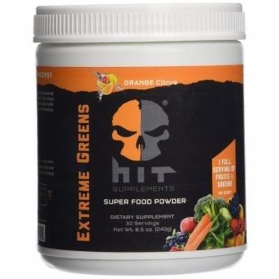 HiT Supplements Supreme Greens, Orange Citrus, 30 servings