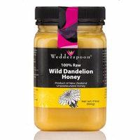 100% Raw Dandelion Honey - 17.6 oz (500 Grams) by Wedderspoon