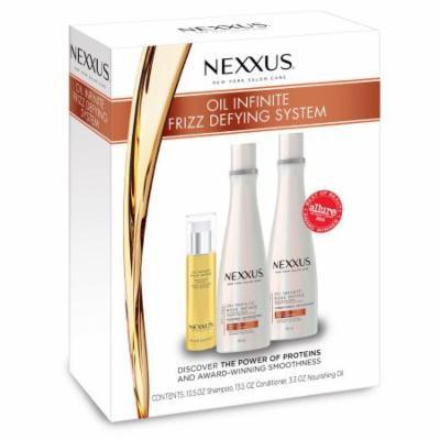 Nexxus Oil Infinite Frizz Defying System (3 pc.)