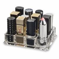 (Fits Large Based Lipsticks) Acrylic Lipstick Organizer & Beauty Care Holder Provides 12 Space Storage byAlegory Makeup Organizer