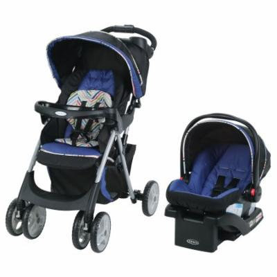 GracoComfy Cruiser Click Connect Stroller Travel System, with SnugRide ClickConnect 30 Infant Car Seat, Lively
