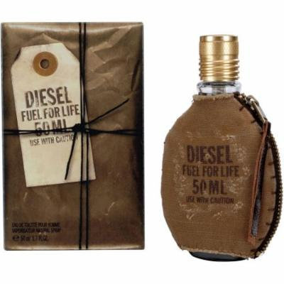 Diesel Fuel for Life Eau de Toilette Natural Spray for Men, 1.7 fl oz