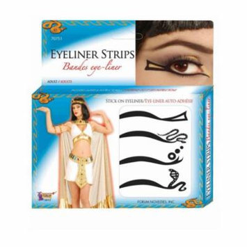 Deluxe Stick On Eyeliner Accessory Makeup Kit