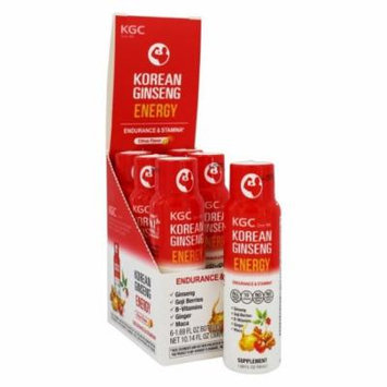 Korean Ginseng - Korean Red Ginseng Shot Energy Citrus - 1.69 oz.
