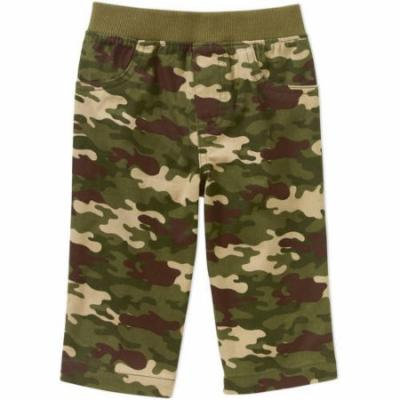 Garanimals Newborn Baby Boy Printed Camo Woven Pants