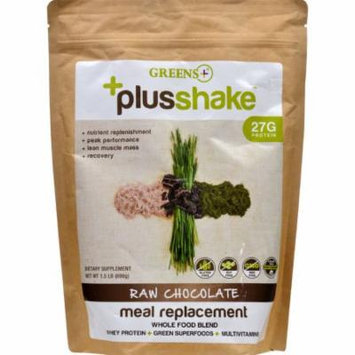 Greens Plus Meal Replacement - PlusShake - Raw Chocolate - 1.5 lb