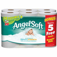 ANGEL SOFT BATH TISSUE 12DR