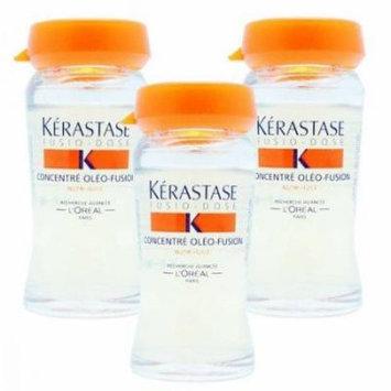 Kerastase Fusio-Dose Concentre Oleo-Fusion Intensive Nutritive Treatment ( 3 Vials ) 3 x 12ml/0.4oz Vials