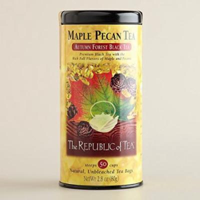 Maple Pecan Tea - 50 cups - natural, unbleached tea bags - 2.8 oz / 80 g