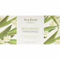 Tea Forte Skin Smart Ribbon Box - Contains Twenty Silken Pyramid Infusers