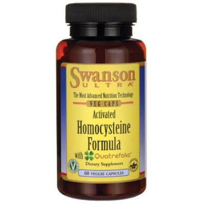 Swanson Activated Homocysteine Formula 60 Veg Caps