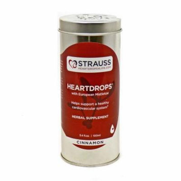 Heartdrops Cinnamon By Strauss Naturals - 3.4 Ounces