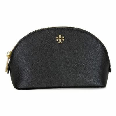 Tory Burch Robinson Small Cosmetic Case - Black