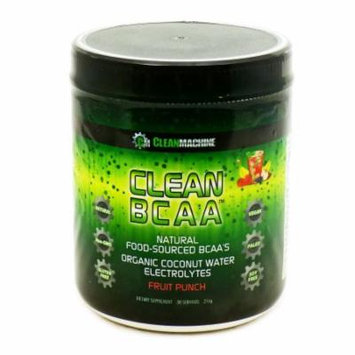 Clean BCAA Fruit Punch by Clean Machine - 30 Servings