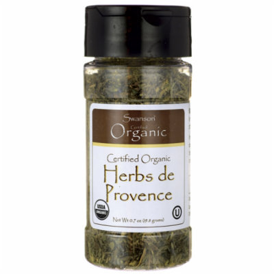 Swanson Certified Organic Herbs de Provence 0.7 oz (19.8 grams) Pwdr