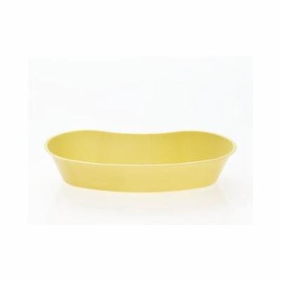 Plastic Emesis Basins,Gold,16.000 OZ DYND80321H