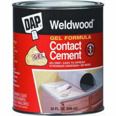 DAP Weldwood Gel Formula Contact Cement