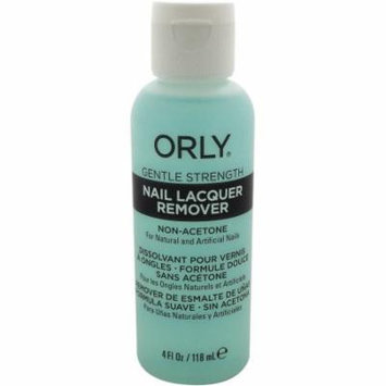 ORLY for Women Gentle Strength Nail Lacquer Remover, 4 oz