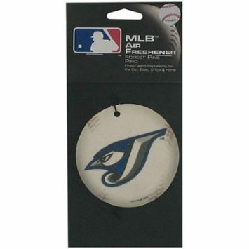 Bulk Buys Blue Jays Baseball Pine Air Freshener, Case of 24