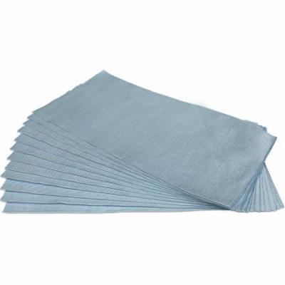 CleanAide® Ultrasonic Cut Glass Weave Microfiber Towel 16 in X 16 in - 12 Pack