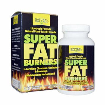 Natural balance Super Fat Burners, 120 capsule