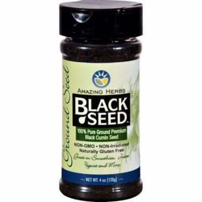 Black Seed Black Cumin Seed - Ground - 4 oz