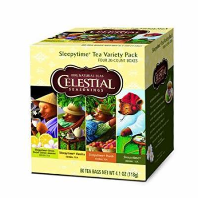 Celestial Seasonings Sleepy Time Tea Variety Pack, 80 count