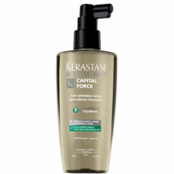 Homme Capital Force Anti-Oiliness Leave-In Treatment ( Light and Clean Feeling Hair ) - Kerastase - Hair Care - 125ml/4.
