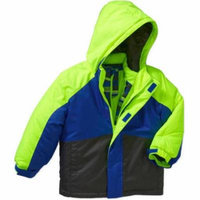 Healthtex Baby Toddler Boys' 3 in 1 Ski/Snowboard Jacket with Removable Inner Layer
