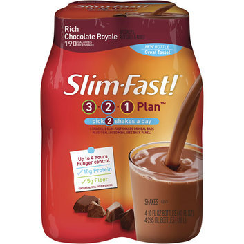 Slim-Fast 3-2-1 Rich Chocolate Royale Shakes