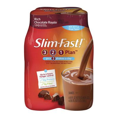 Slim-Fast 3-2-1 Rich Chocolate Royale Shakes