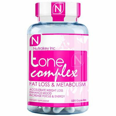 Nutrakey Tone Complex Capsules, 120 Count