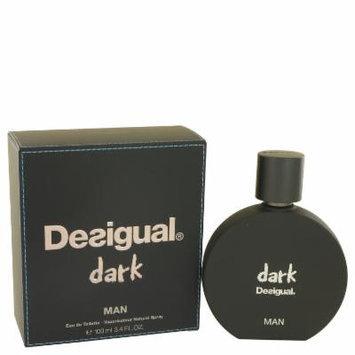 Desigual Dark for Men by Desigual EDT Spray 3.4 oz