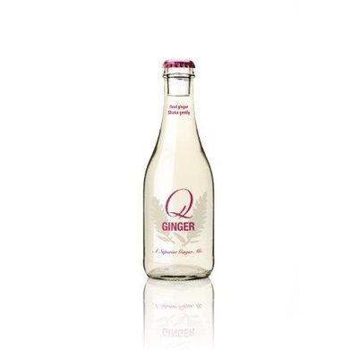 Q Ginger Q-Ginger, 8-Ounce Glass Bottles (Pack of 24)