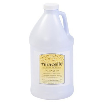 Miracelle Gold Massage Oil - 1/2 Gallon