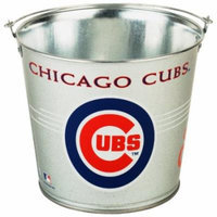MLB Chicago Cubs Galvanized Pail